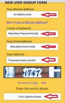Cara Daftar Wallet di Blockchain